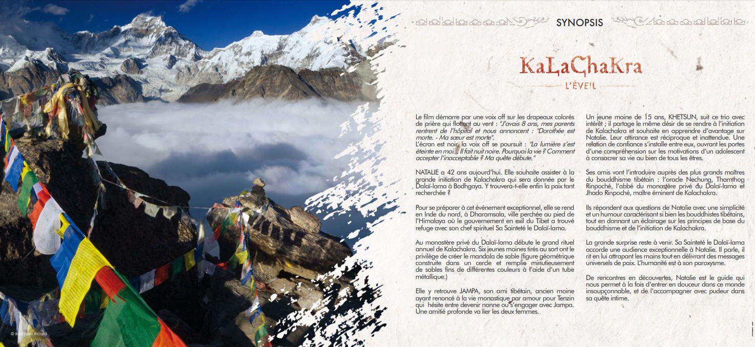 15 décembre : Kalachakra - l'Eveil par Natalie FUCHS