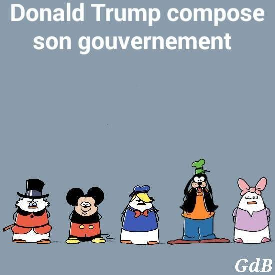 Donald Trump compose son gouvernement