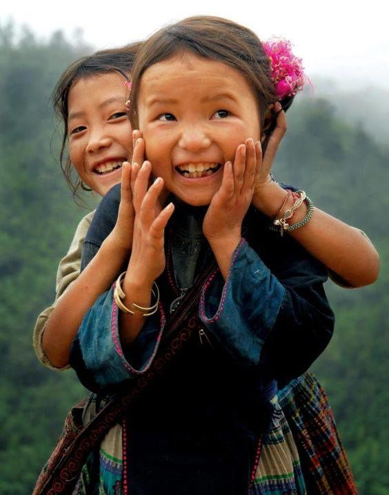""" A smile is the beginning of Peace. "" —Mother Teresa"