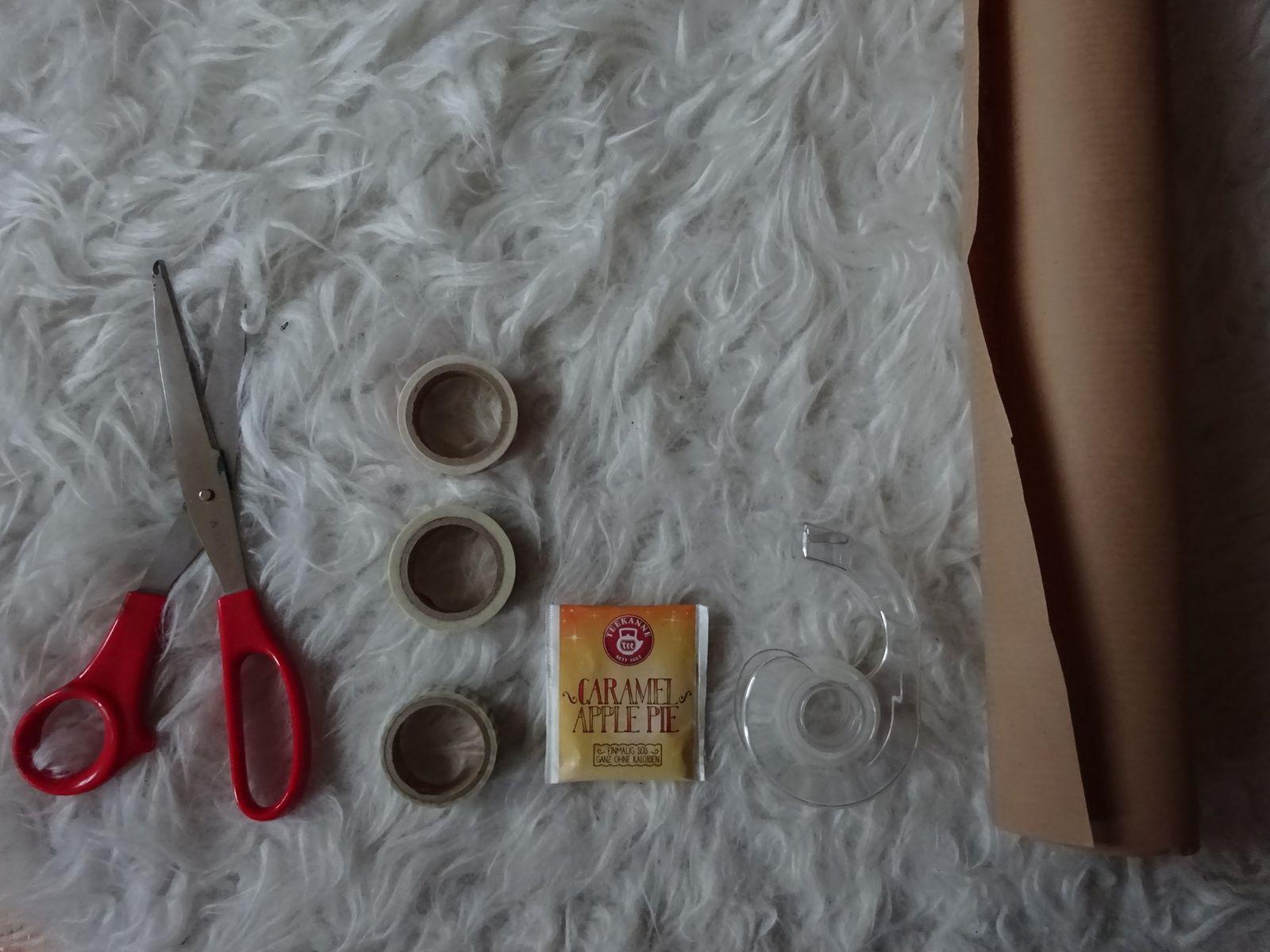 Geschenkeverpacken für Tee-Liebhaber