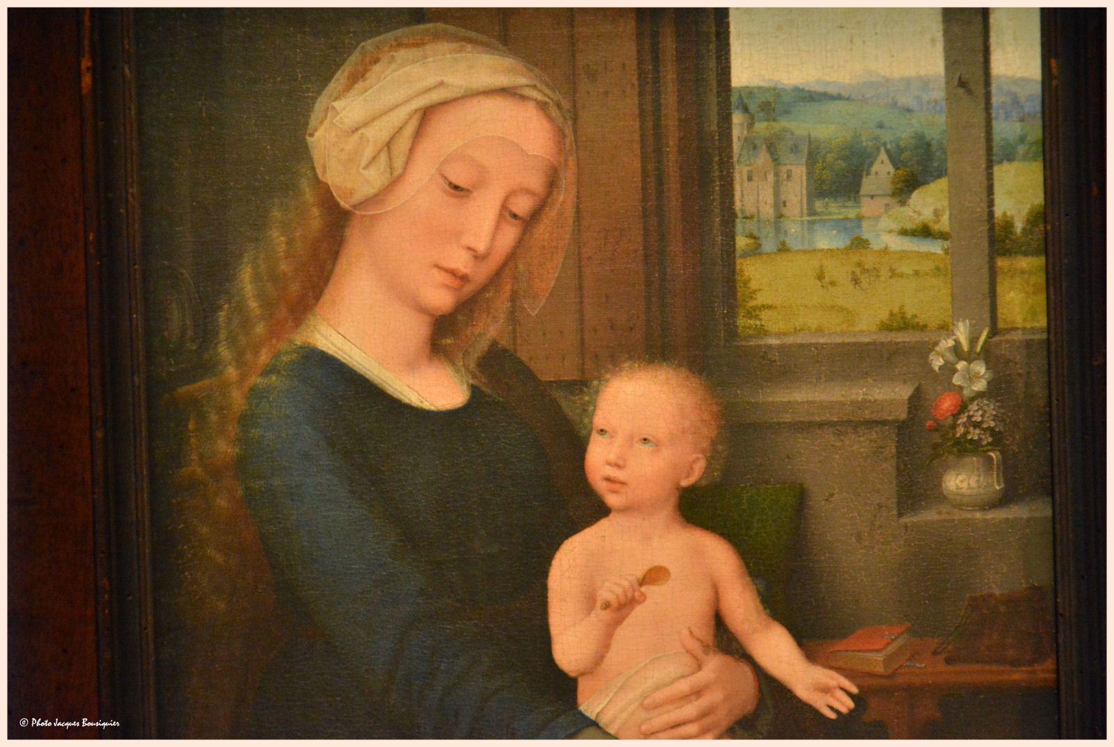 La Vierge à la soupe au lait - Gérard DAVID
