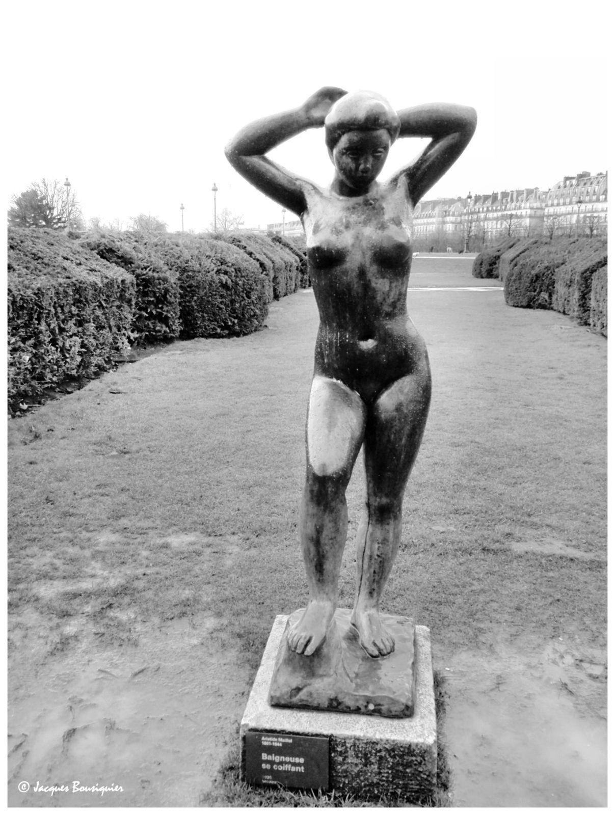 Maillol au Jardin des Tuileries à Paris