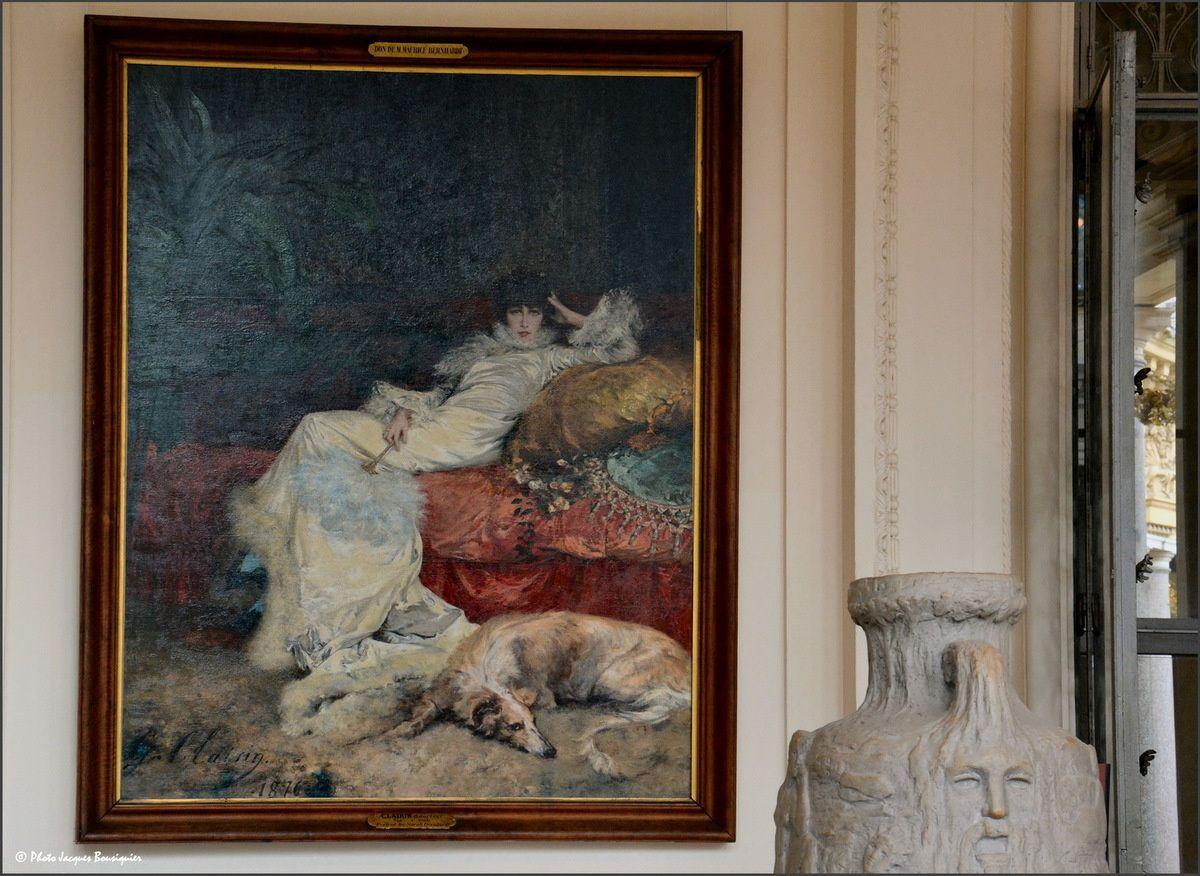 Sarah Bernhardt au Petit Palais