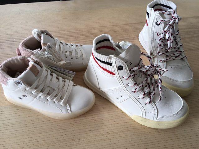 Nouvelles chaussures pour les kids