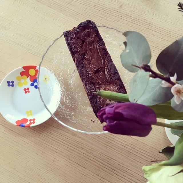 Un cake marbré deux chocolats pour 6 enfants à la maison...les cousines arrivent