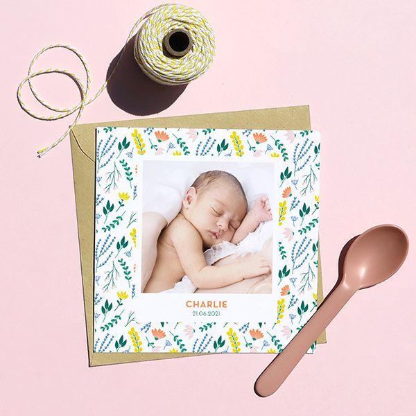Des idées pour les faire-parts de vos bébés