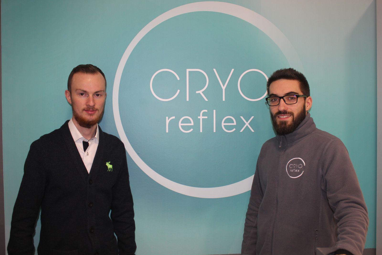 Alexis et Yoann vous accueillent chez CryoReflex