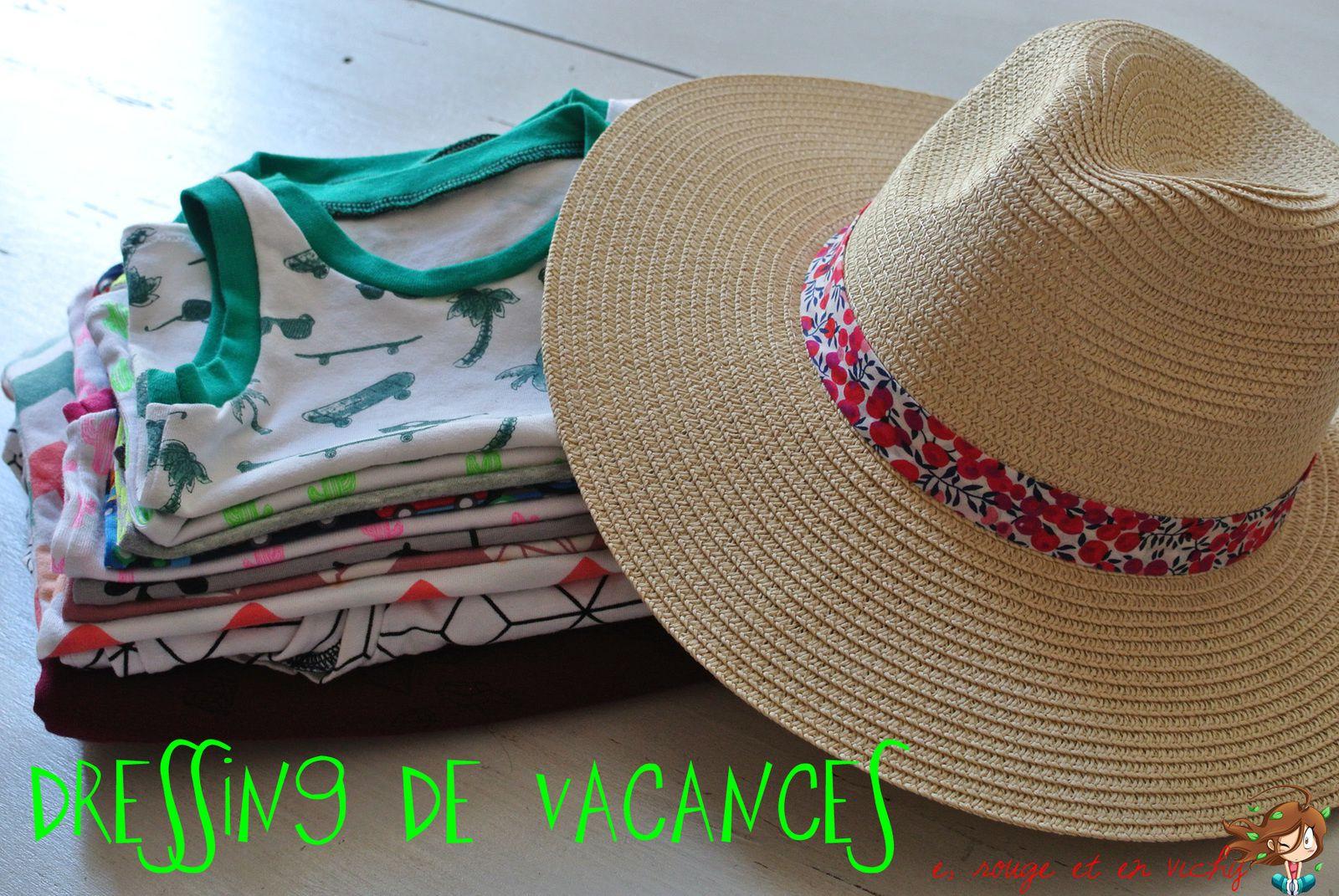 Notre dressing de vacances [défi P12 inside]