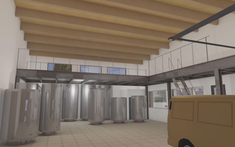 Conception d'une Brasserie Artisanale avec Espace de Restauration