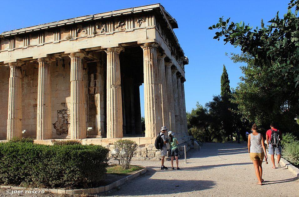 Thissio y Ágora de Atenas
