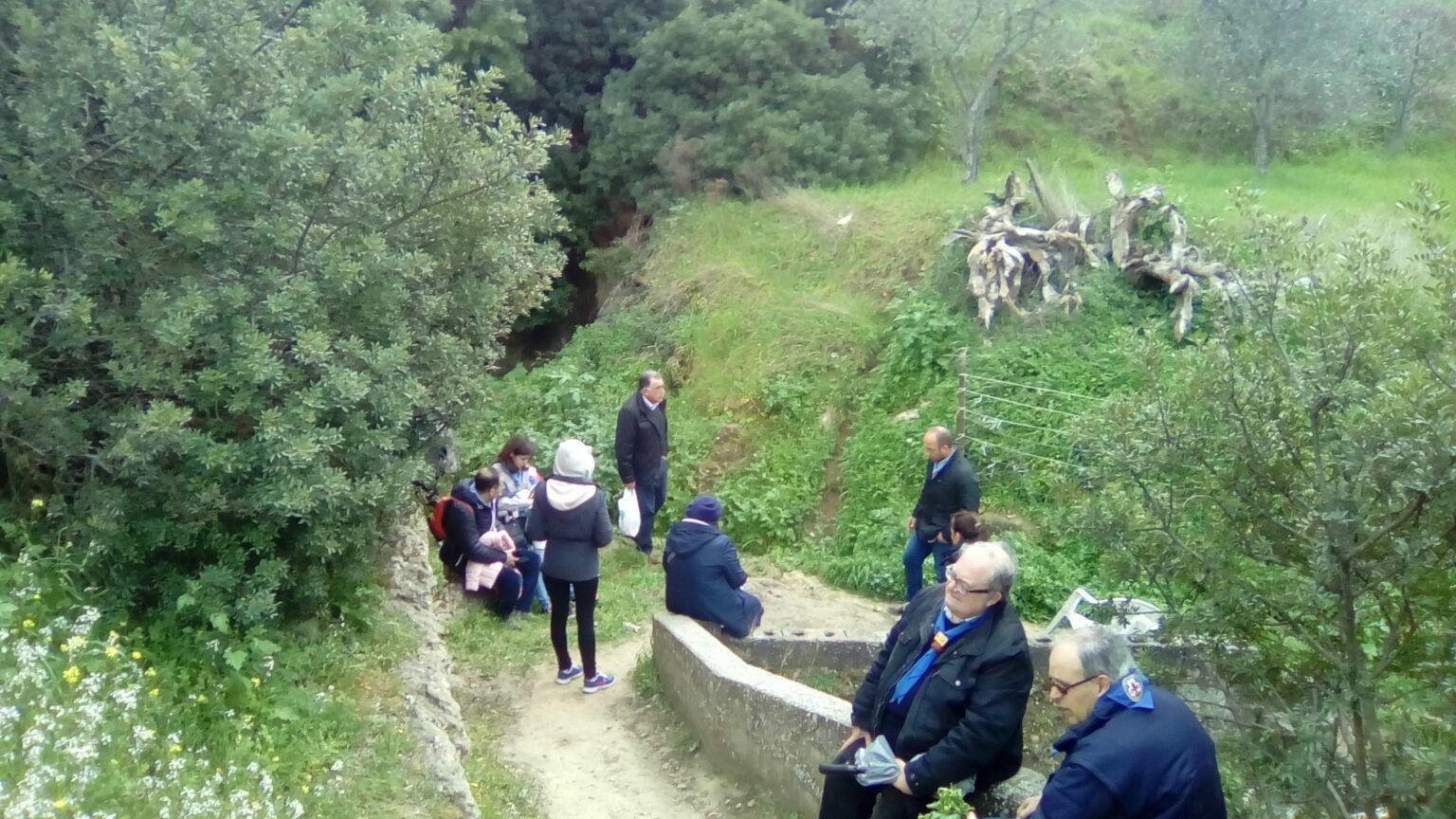 Il MASCI Basilicata in visita alle grotte
