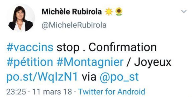 Michèle Rubirola rattrapée par ses positions antivaccins