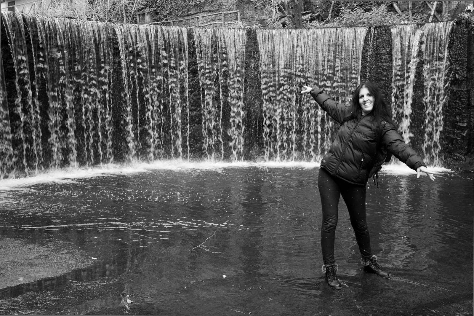 La cascata dell'isola Farnese