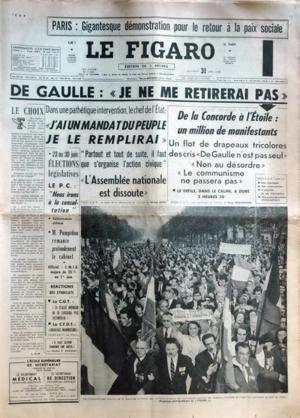 Figaro de Mai 1968