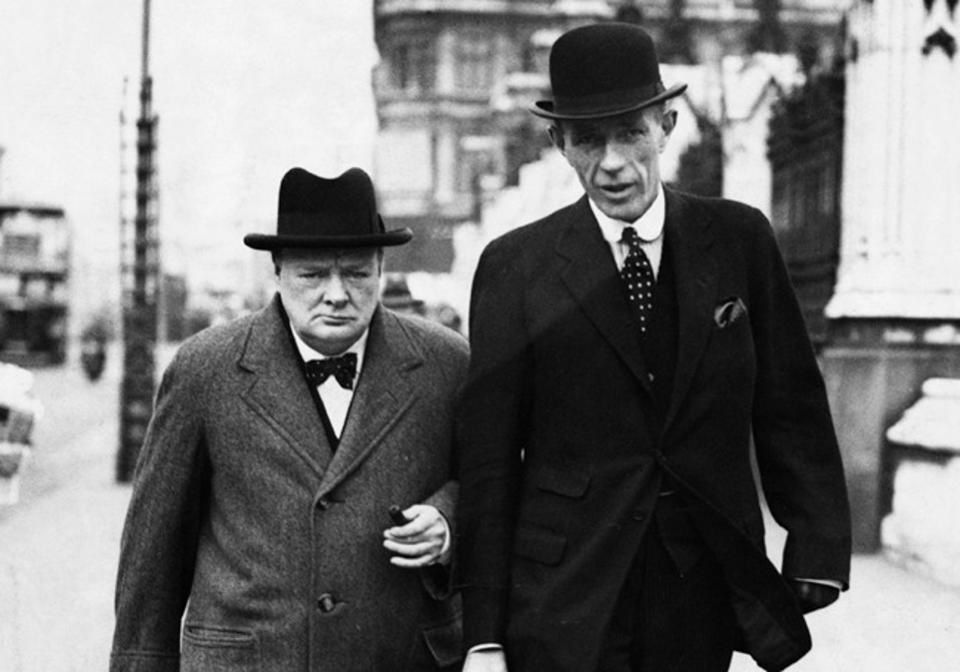 Lord Edward Halifax, Winston Churchill