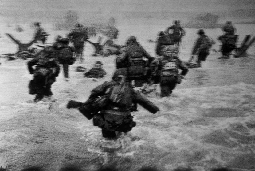 D day, Robert Capa