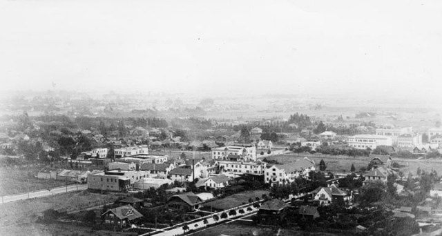 Hollywood panorama 1910