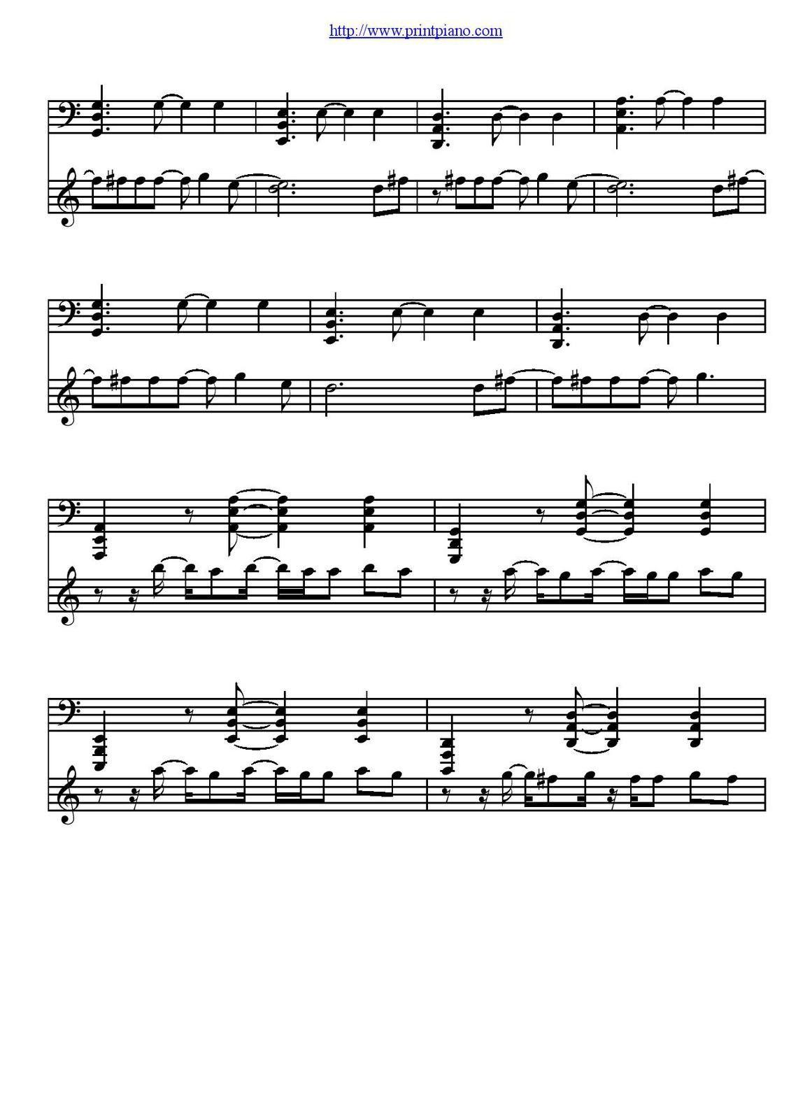 "Partitura para Piano ""She Wolf"" | David Guetta ft Sia"