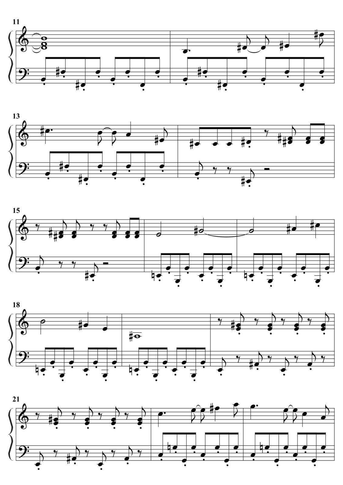 "Partitura Para Piano ""Los Simpsons"" 