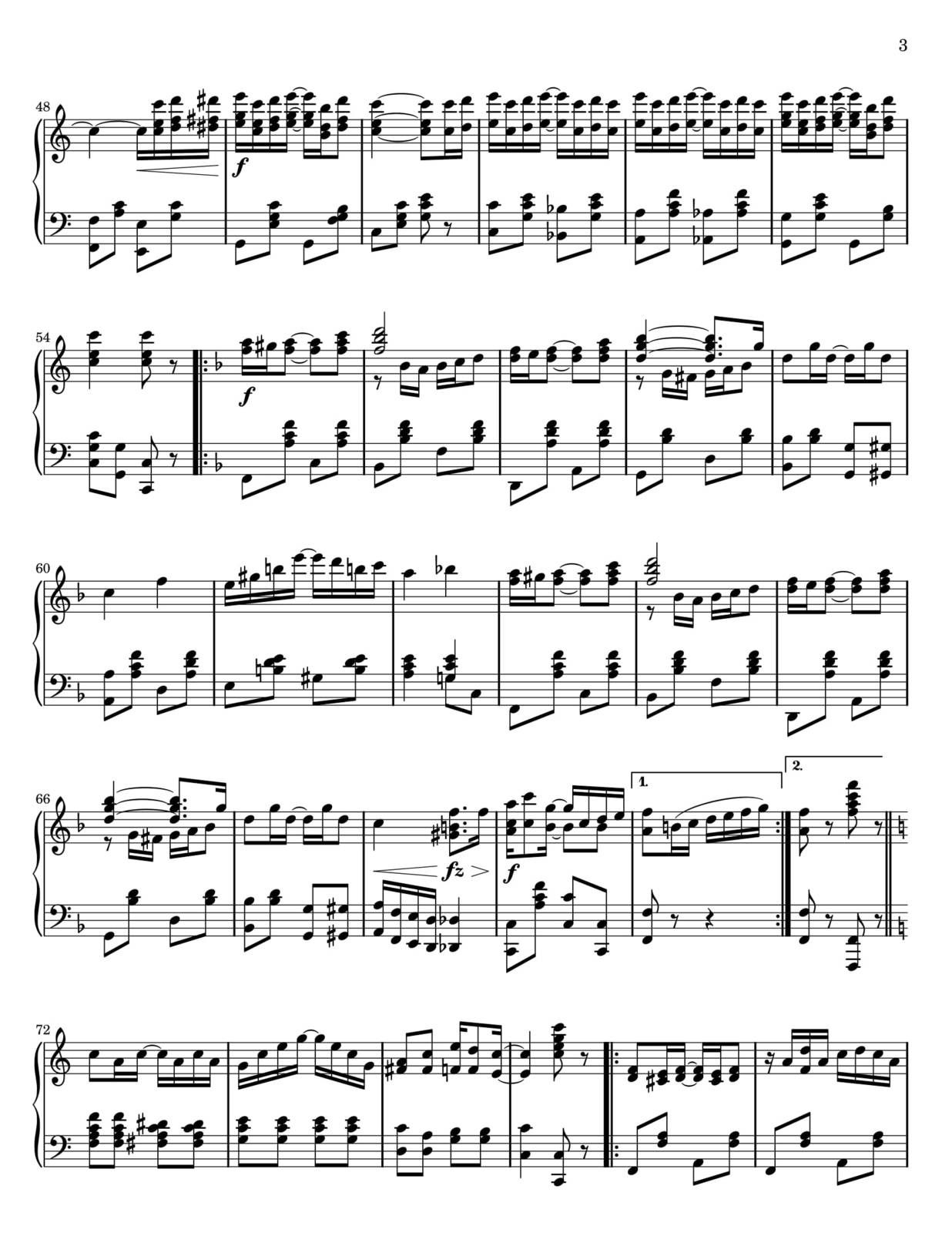 "Partitura Para Piano ""The Enterteiner"" 
