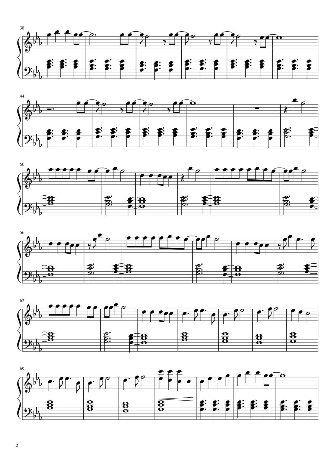 "Partitura para Piano ""The Greatest""| Sia"