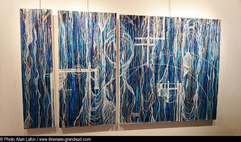 """Exposition """"Vibrations"""" d'Orélie Magnoni"""