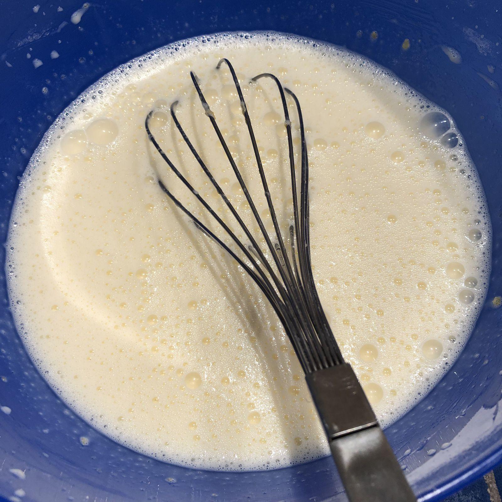 Gaufres sans gluten à la Maïzena - pour 16 gaufres