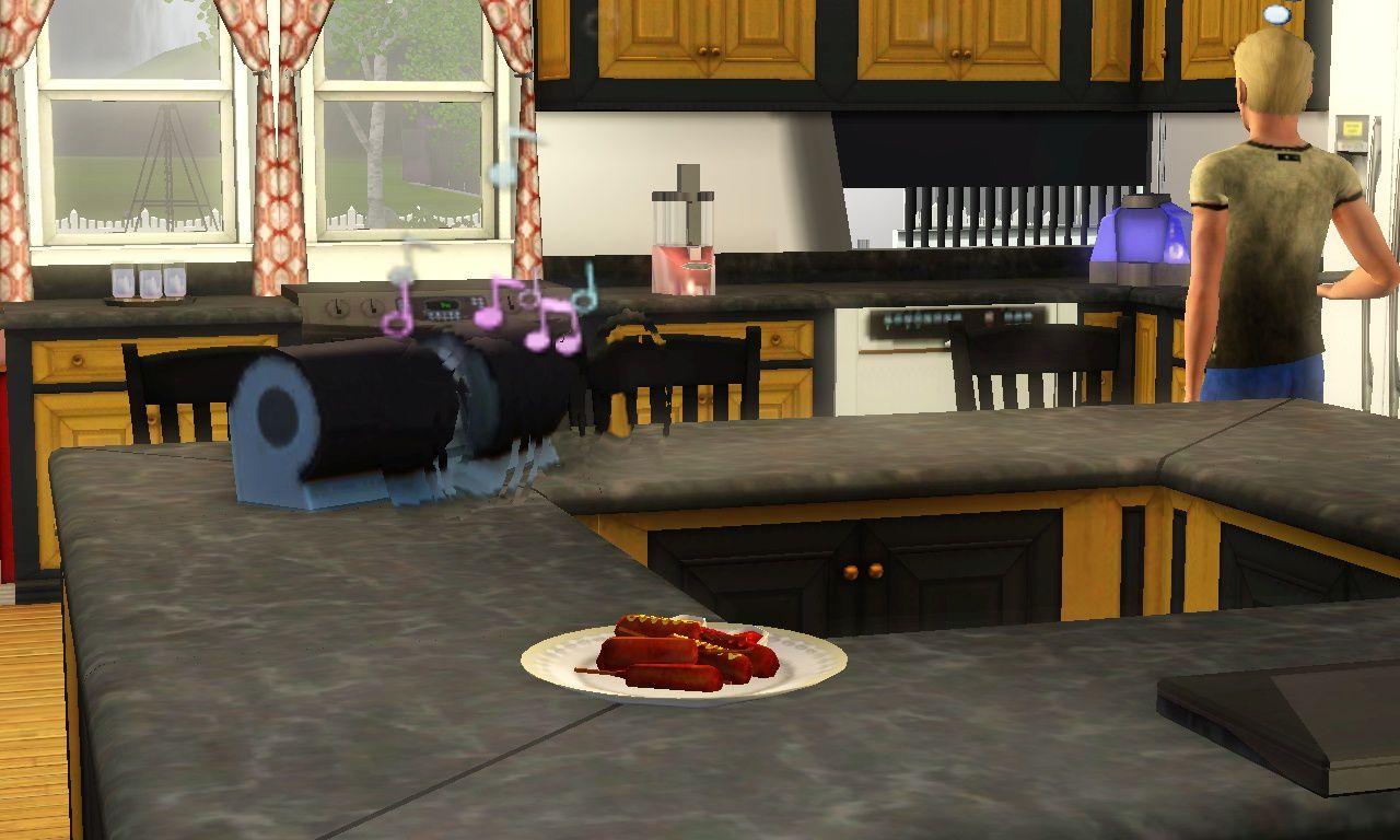 Sur la  page d'Album de Sims il y-a pour tout le goûts. On partage cette  idée idéale de Marie Quivivre