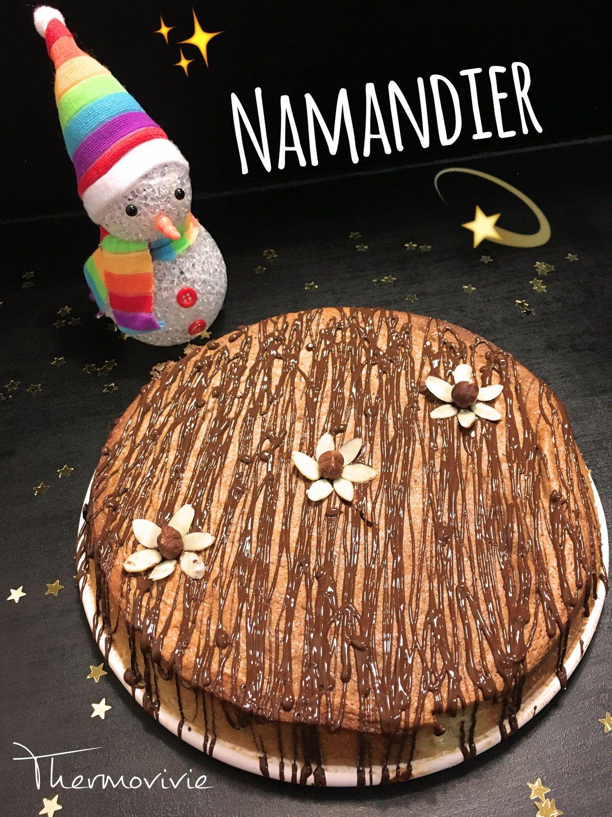 Namandier, recette au thermomix