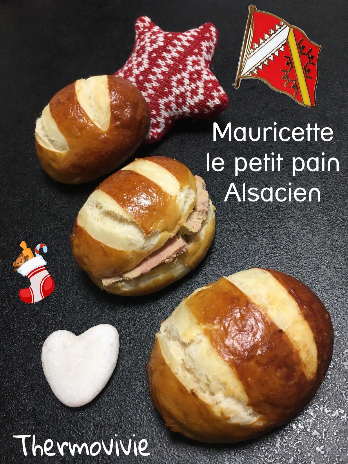 Mauricette, le petit pain alsacien. Recette au thermomix