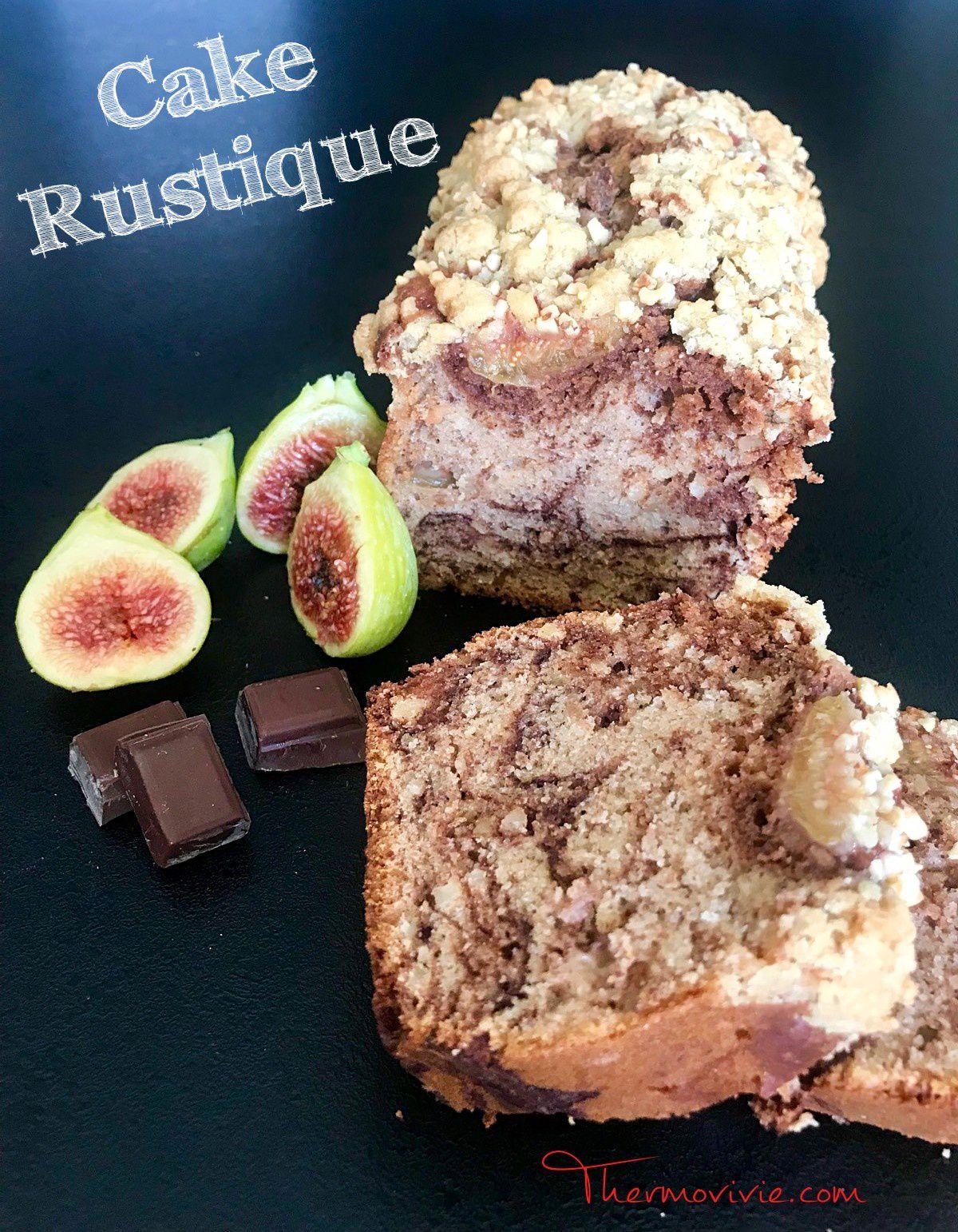 Cake Rustique, recette au Thermomix