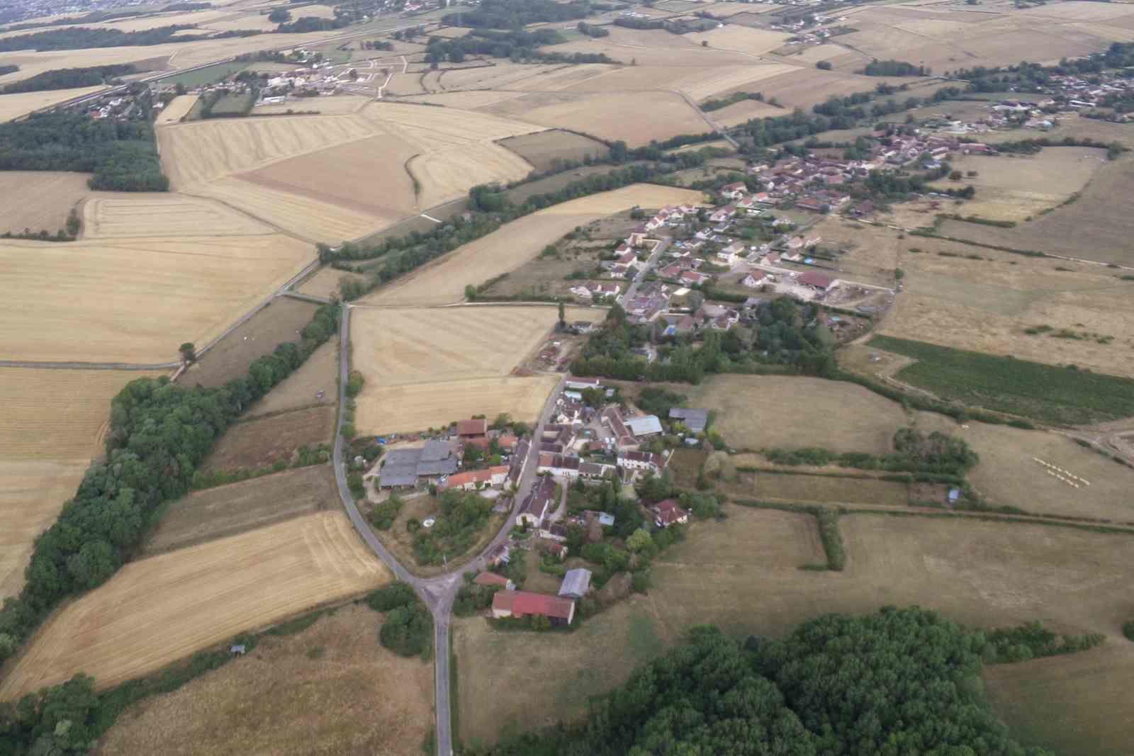 Le hameau Les Soleines de la ccommune de Venoy