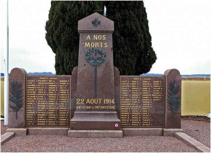 Monument sur la nécropole de ROMAINS (Meurthe et Moselle)