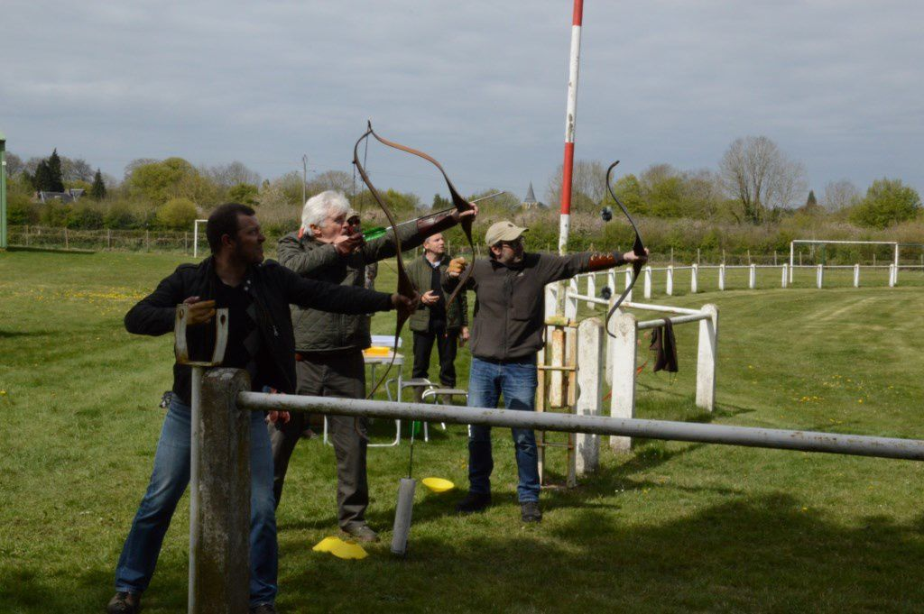 Nouvel entrainement des archers à FEUQUIERES
