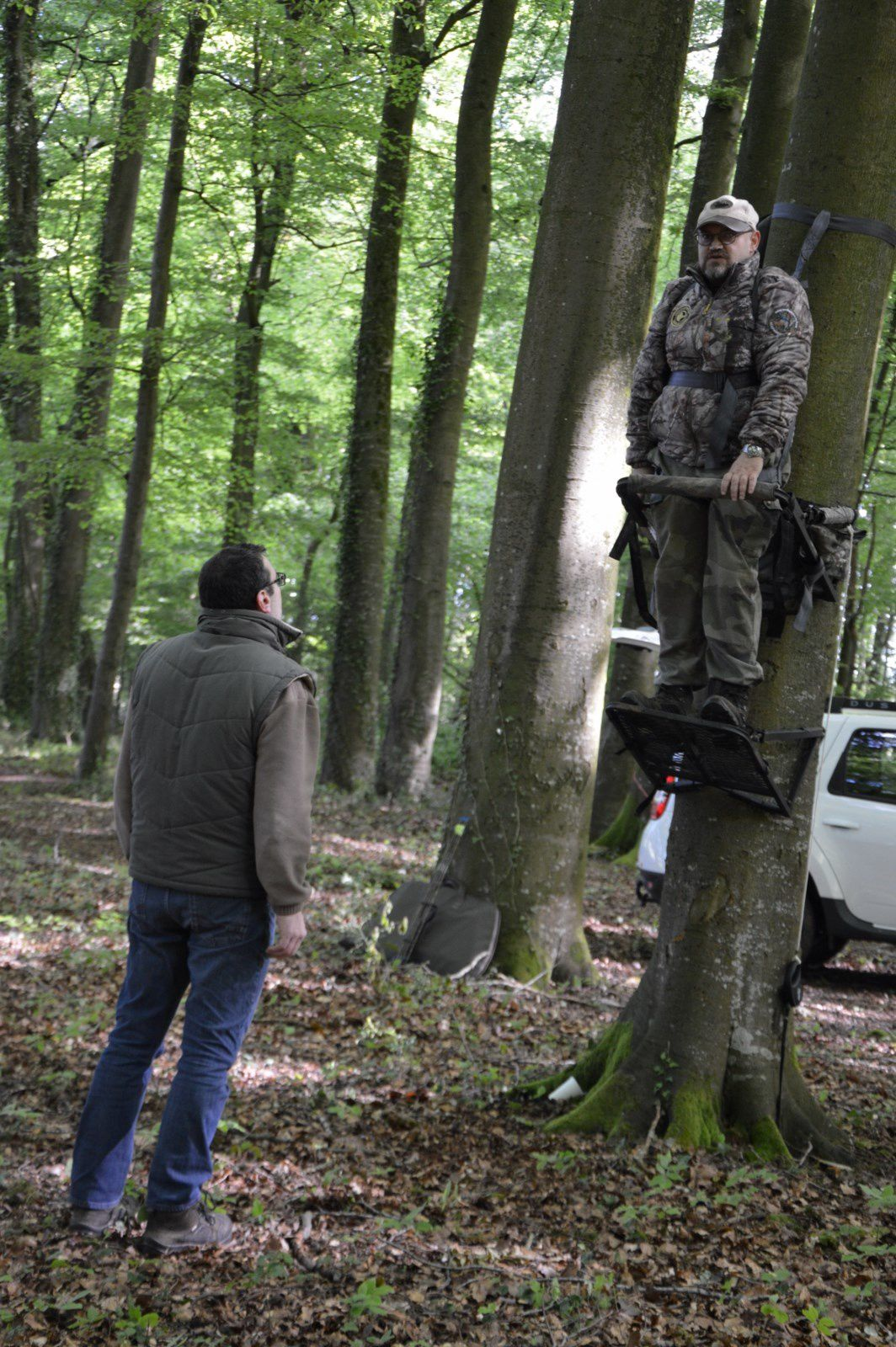 Formation tree-stand à FEUQUIERES