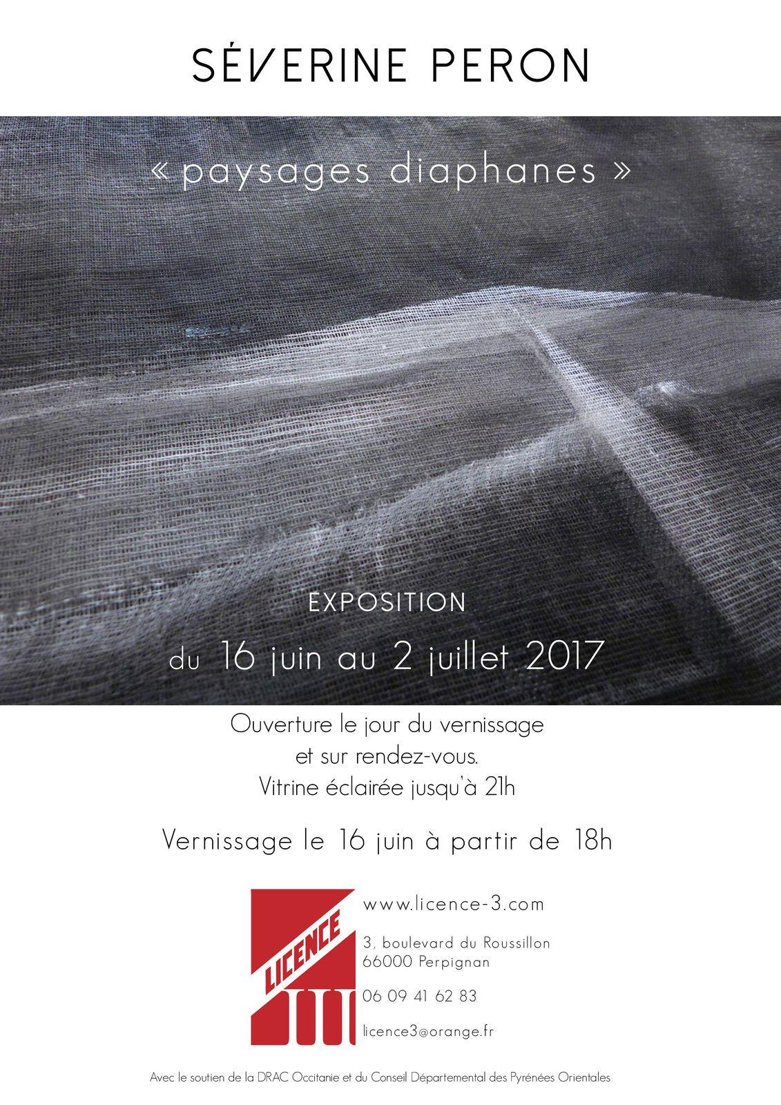 Exposition galerie Licence III, Perpignan