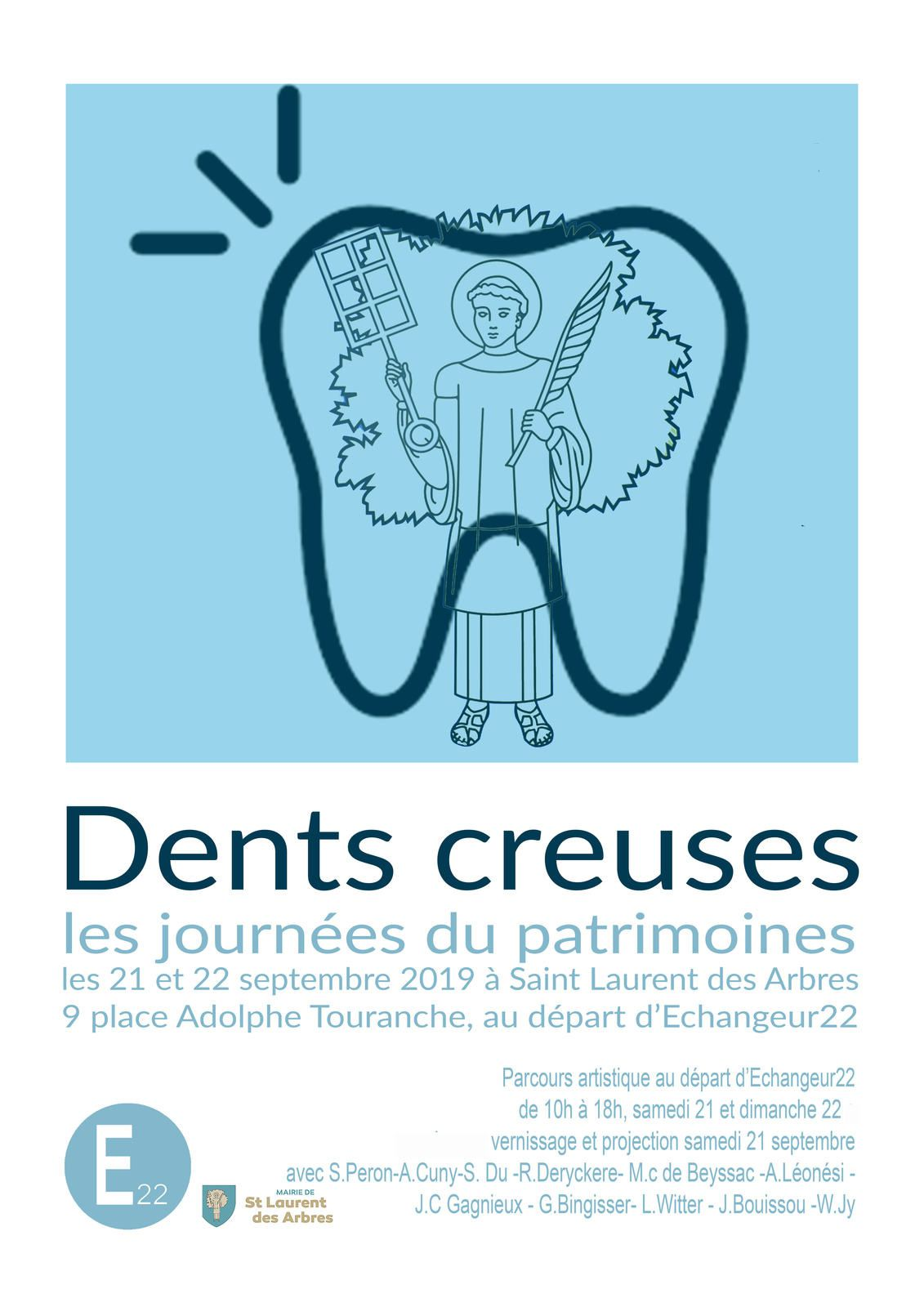 Dents creuses, à l'E22, Gard