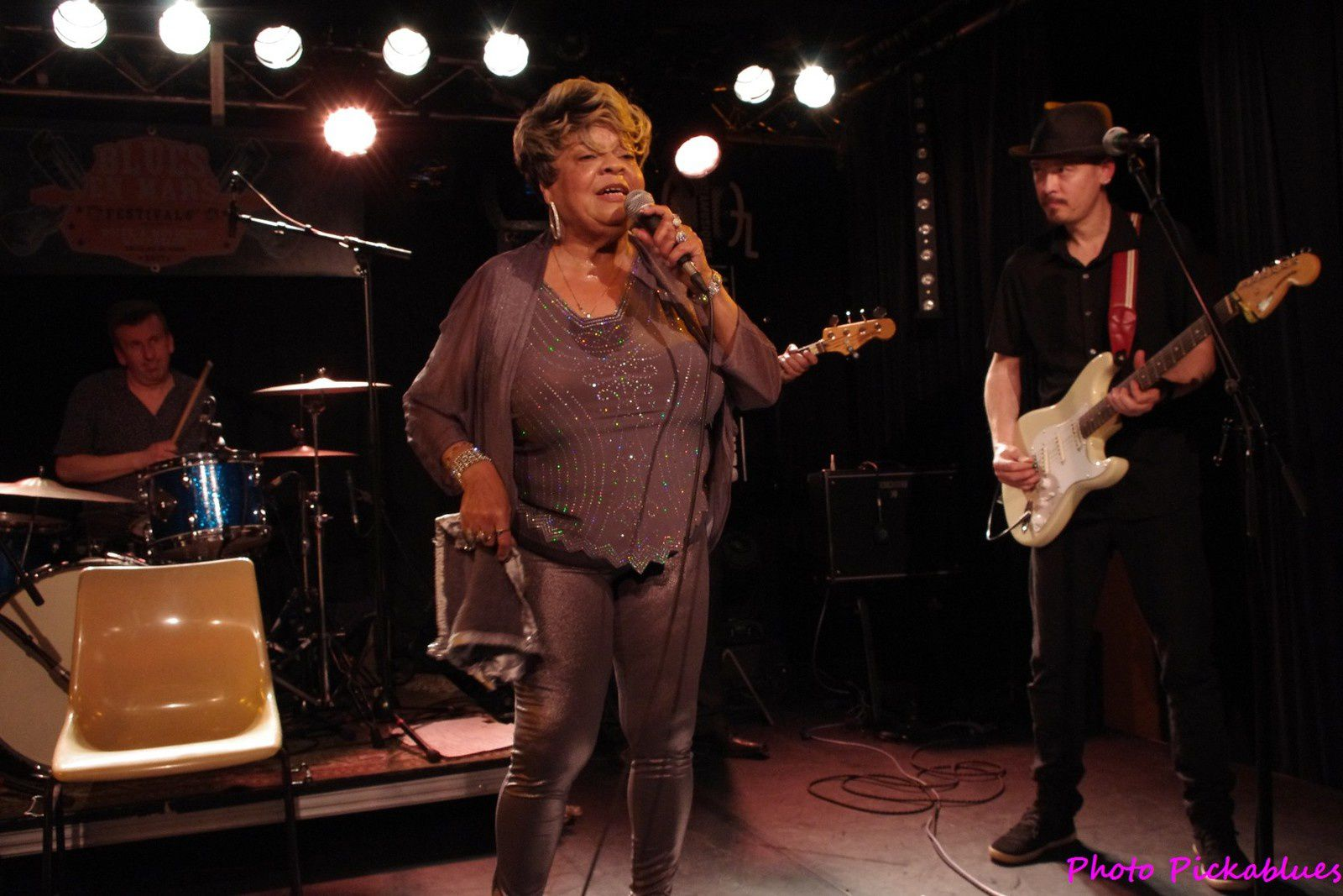 Sandra Hall & The French Blues Explosion - 17 mars 2017 - La Boite à Musiques, Wattrelos (59)