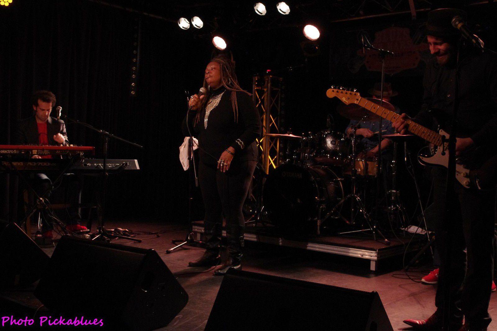 Miss Nickki & The Memphis Soul Connection - 23 mars 2017- La Boite à Musiques, Wattrelos (59)