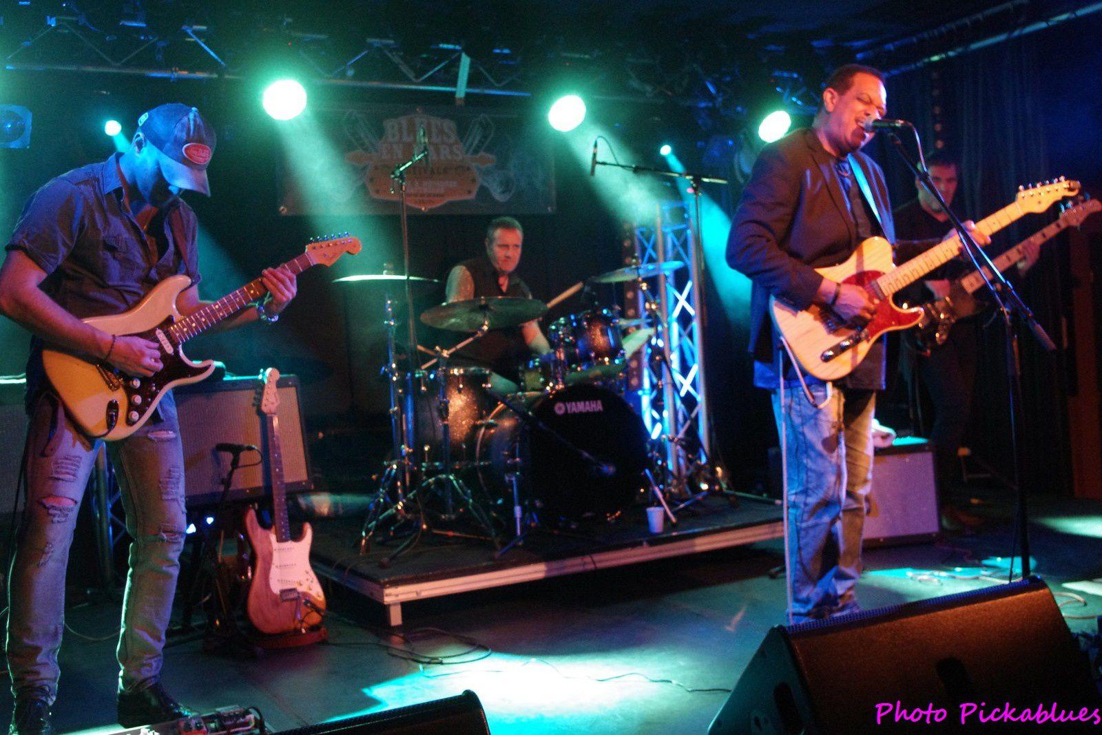 Tim Mitchell Band - 26 mars 2017 - La Boite à Musiques, Wattrelos (59)