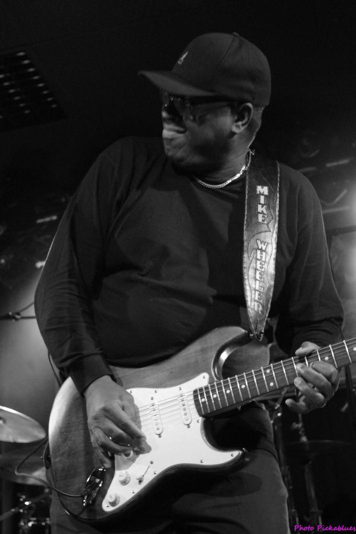 Mike Wheeler - Blues en Mars 2018 - La Boite à Musiques, Wattrelos (59)