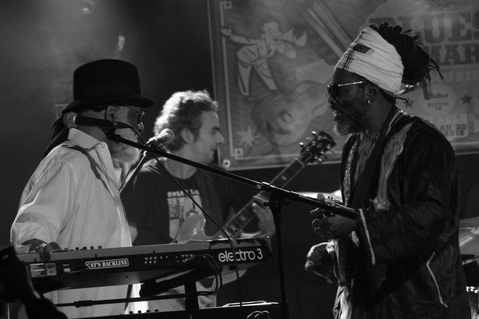 Mighty Mo Rodgers & Baba Sissoko - Blues en Mars 2018 - La Boite à Musiques, Wattrelos (59)