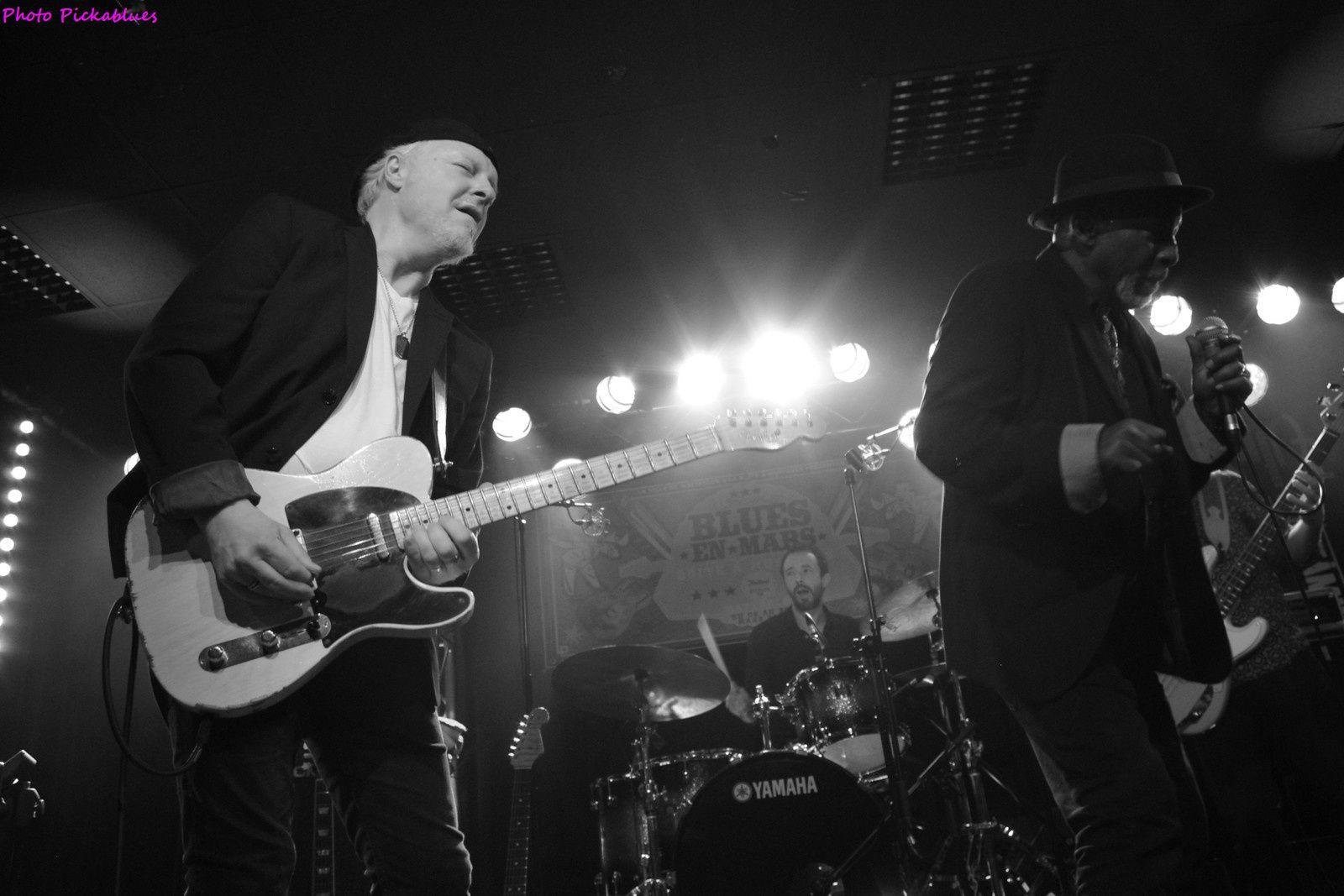 Fred Chapellier & The Gents, feat. Dale Blade - 24/03/2018 - La Boite à Musiques, Wattrelos (59)