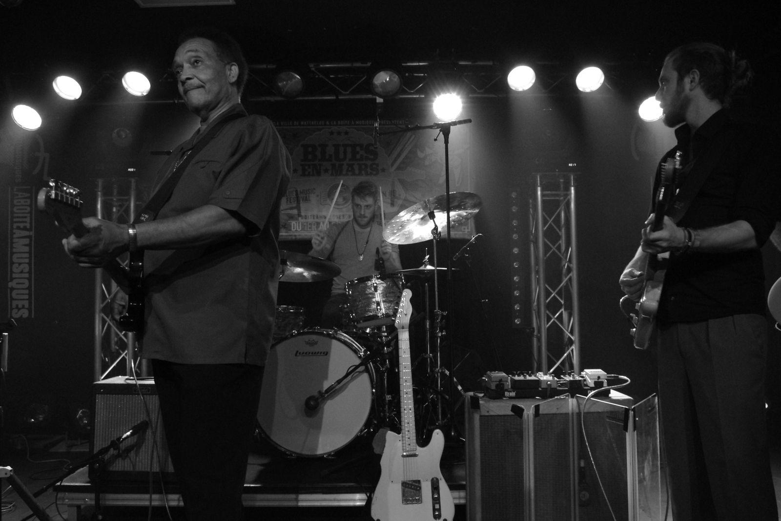 Johnny Rawls - 03 mars 2020 - La Boite à Musiques, Wattrelos (59)