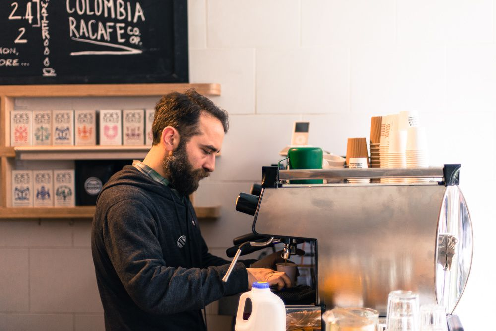 Terrone Coffee Pop-up in Brixton