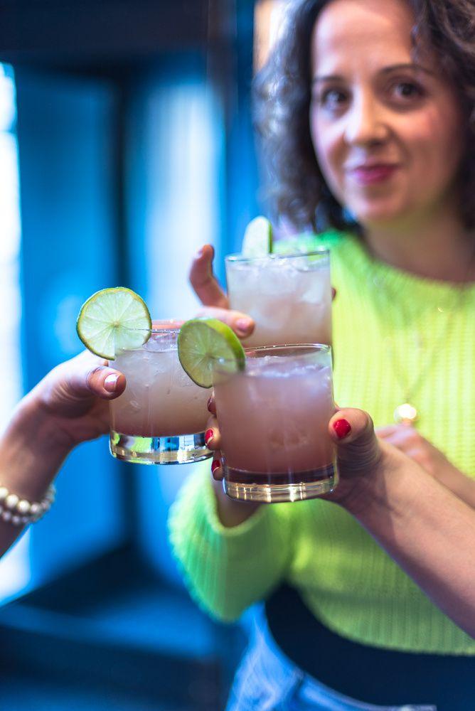 Tequila Cocktails at Kensington Place