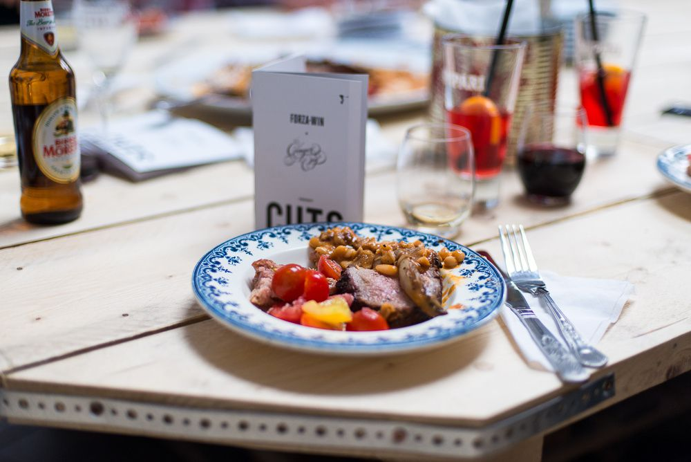 CUTS Supperclub by Forza Win & Ginger Pig
