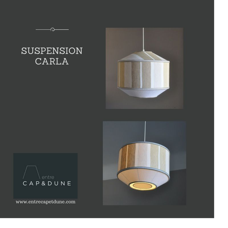 SUSPENSION CARLA  - CREATION ATELIER ENTRE CAP ET DUNE