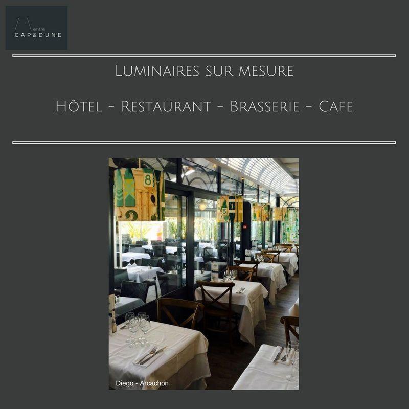 Luminaires sur mesure    Hôtel - Restaurant - Brasserie - Café