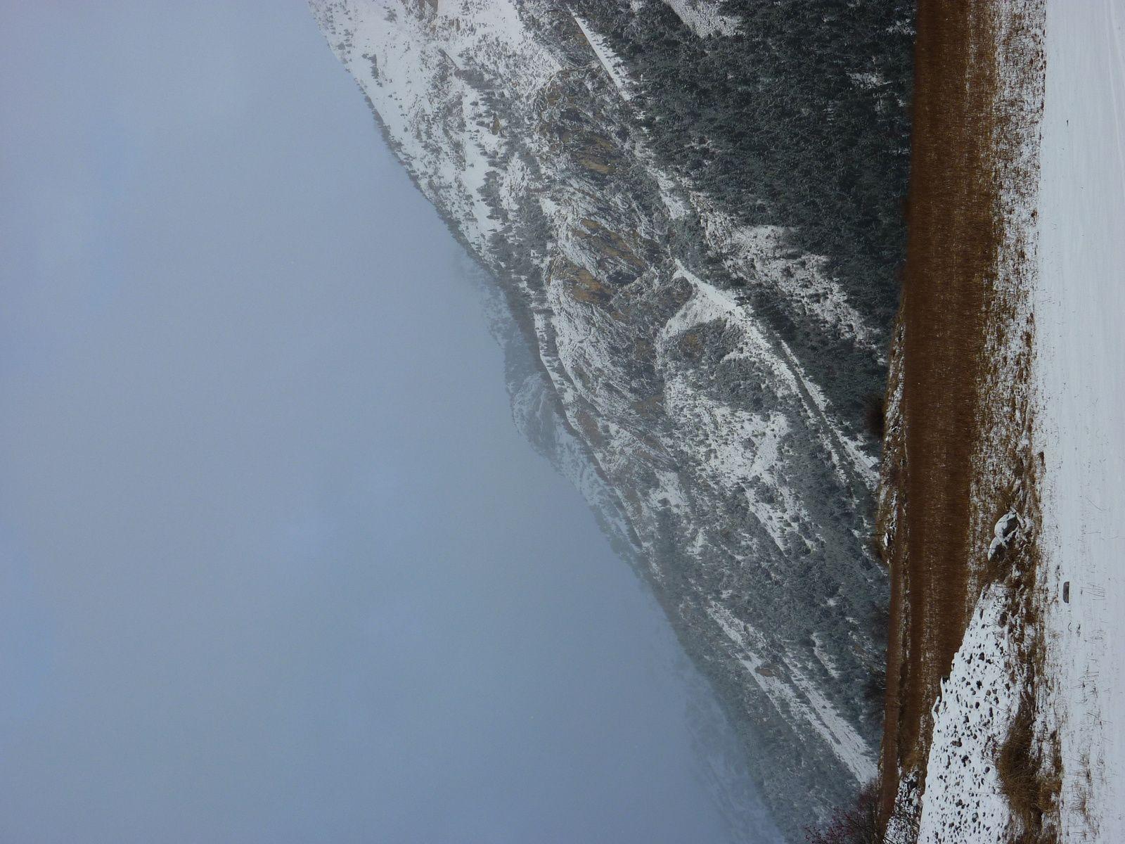 20 décembre et première neige enfin